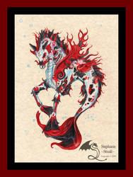 Nishikigoi Kir'rin Koi Hippocampus Stallion Red Tn
