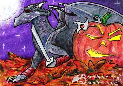 Dragon Halloween Smauggers Ninja Pumpkin Jack