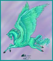 Aganippe's Get Dark Pegasus by StephanieSmall