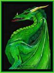 ATC Peridot Dragon Green Reptile Monster Beast Gem