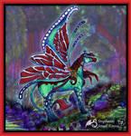 Aganippe's Path Gygaxian Mare Fairy Pegasus