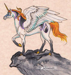 Malsanctus Horse Stallion Unicorn Pegasus Equine