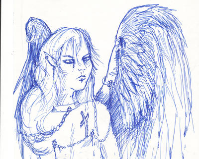 Azmedon the Fallen Angel Azmadiel by StephanieSmall