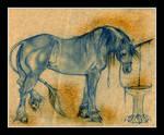 Malcarnus Horse Stallion Poison Muscles Unicorn