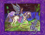 Fairy Horse Unicorn Pony Equine Dragon Fantasy