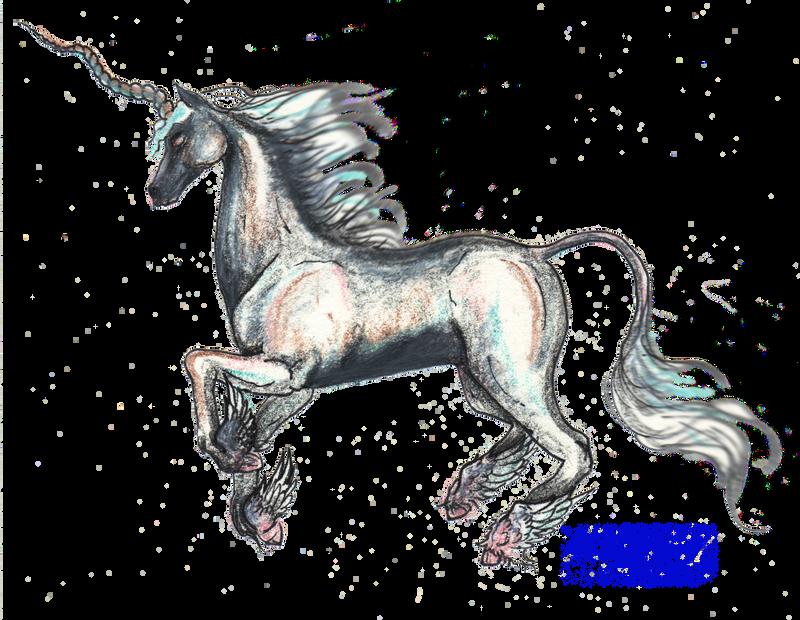 El Alicornio Unicornio Unicorn Stallion Horse Pony by StephanieSmall