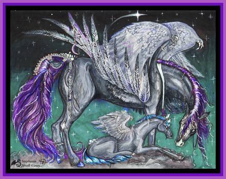 Unicorn Magic Pony Horse Equine Alicorn Pegasus
