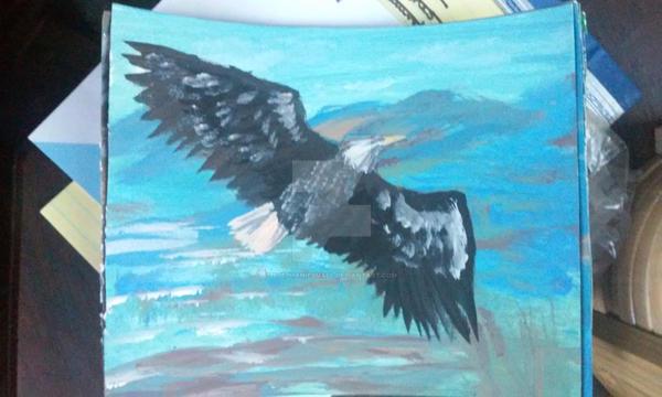 Bald Eagle by pegacorna2