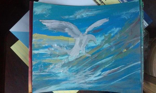 Seagull by pegacorna2