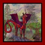 Llragon the Llama Dragon Male Breedable by StephanieSmall
