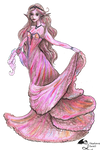 Petal Faery Fairy Pixie Flowers Girl Woman Rose