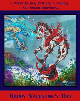 Sea Unicorn Koi Kirin Valentine Hippocampus Horse
