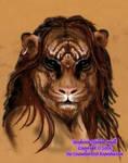 Rascalyn Tiger Cat Wings Winged Male Felshae