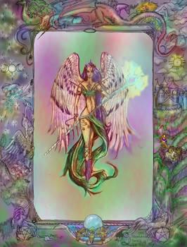 Angel Flight Winged Wings Woman Girl Celestial