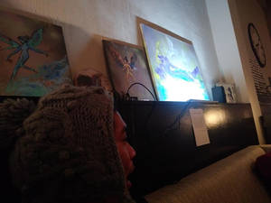 My art on Display at Vallejo SOUP event