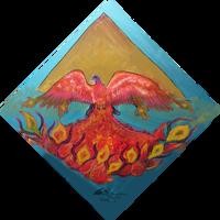 phoenix winged flying firebird fire bird wings by StephanieSmall