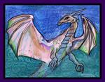 Rose Quartz Dragon Pink Monster Reptile Beast