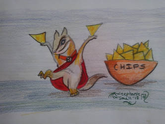 Chipmonk chip monk animal mammal critter food funn by StephanieSmall