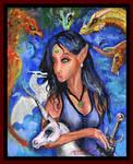 Sirah Elf Unicorn Horse Pony dragon phoenix Turtle by StephanieSmall