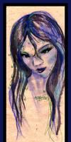 Woman Girl Female Blue Fairy Elf Mermaid Lady