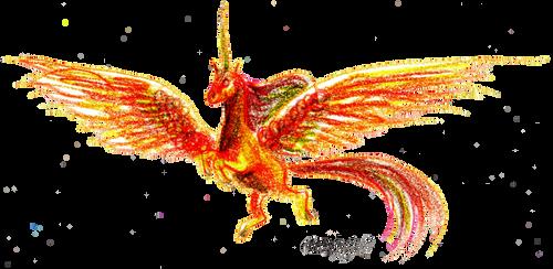 Unicorn Horse Pony Tilabrax'i Golden Equine Equus