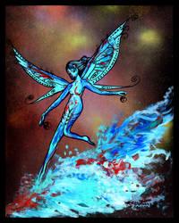 Fairy Girl Woman Lady Princess Pixie Faeries Faer by StephanieSmall