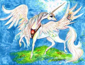 Unicorn Horn Magic Pony Horse Equine Alicorn Peg by StephanieSmall