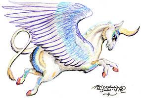 Unicorn Horn Magic Pony Horse Equine Alicorn Pegas by StephanieSmall