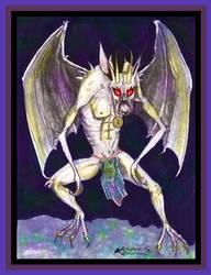 Azmedon's Demon Gargoyle Devil Demon Imp Monster by StephanieSmall