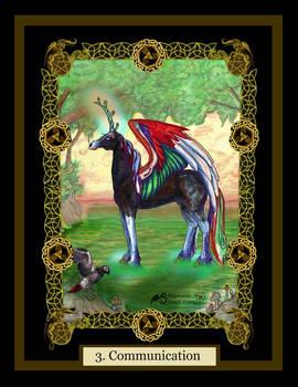 3 Communication unicorn african grey Parrot horse