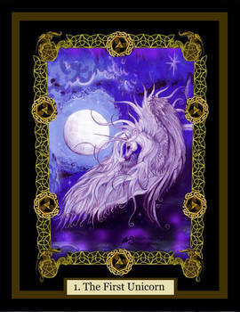 1 Unicorn Horse Pony Purple Equine Equus