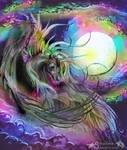 Malcarnus Rainbow Unicorn Stallion by StephanieSmall