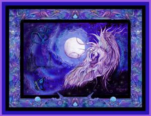 Unicorn Horse Pony Equine Equus Equestrian Purple