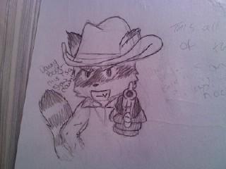 Rocky Raccoon by SupedoKitsune