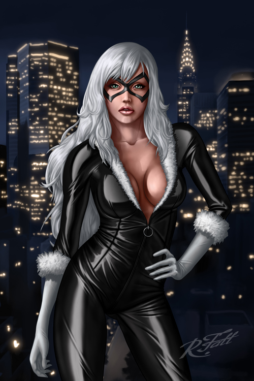 Black Cat by RenatF