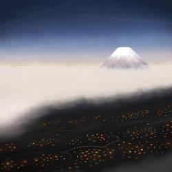 Mount Fuji by yuchunho