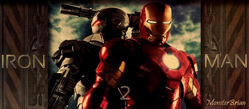 Banner Iron Man 2 by xxMonster-Brianxx