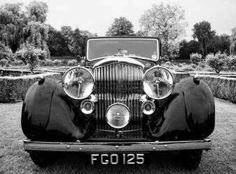 Black And White Bentley by Adam-F