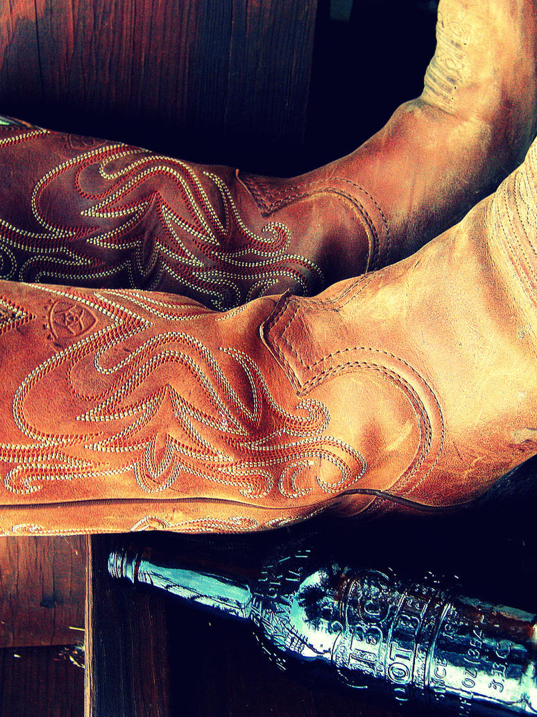 Cowboy Boots in the Summer by SweetSurrender13