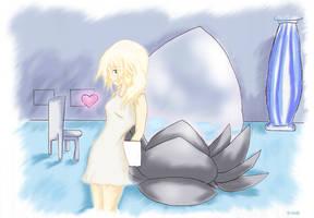 Namine-Kingdom Hearts by xXMatthieu14Xx