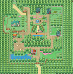 Updated our first town a little bit. Felixia City
