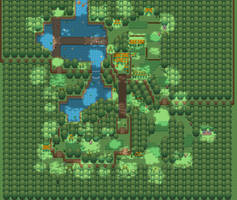 A forest you'll find in Pokemon Umbra by doritosandkilos954