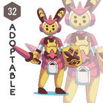(OPEN) Adopt 32 by rbcop - Knight by rbcop
