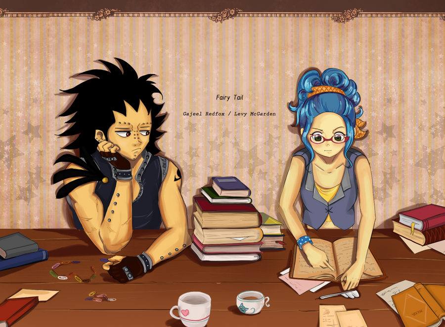 Images des couples ! - Page 12 Gajeel_and_levy_by_muza4370-d38gk35