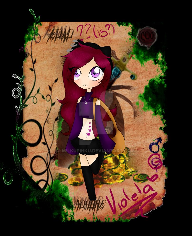 Violeta Ficha Ladrones by alizoon98