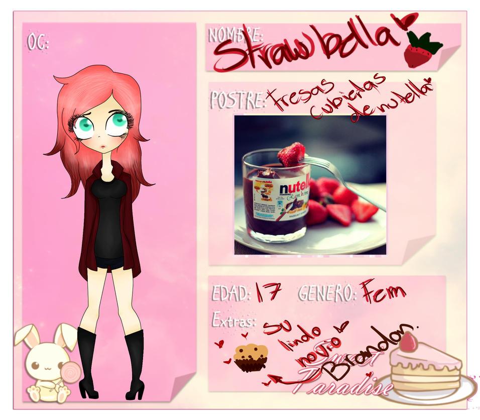Ficha Sweet Paradise Strawbella by alizoon98