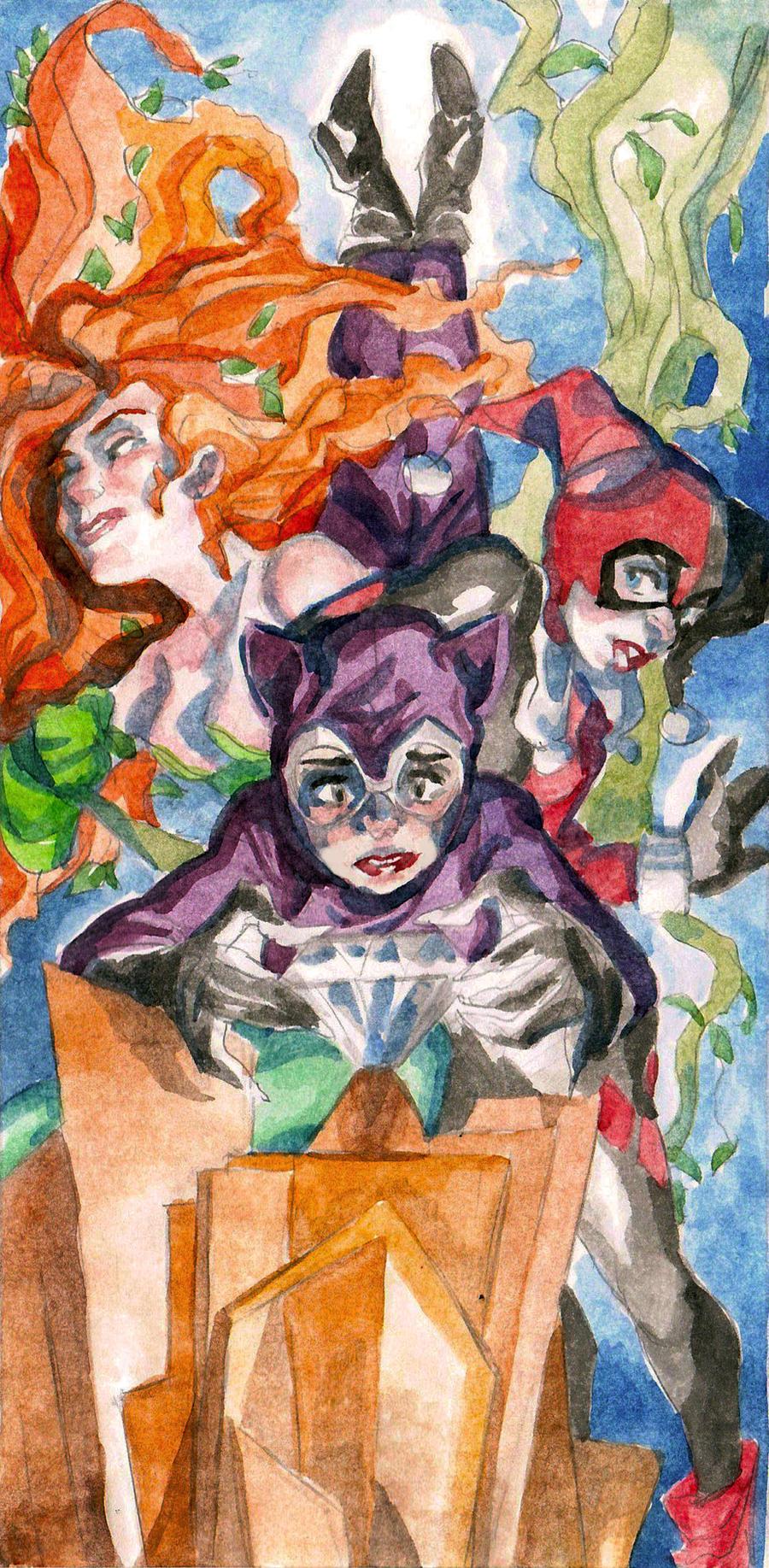Gotham City Sirens by theintrovert