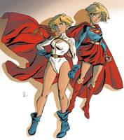 Supergirls by theintrovert