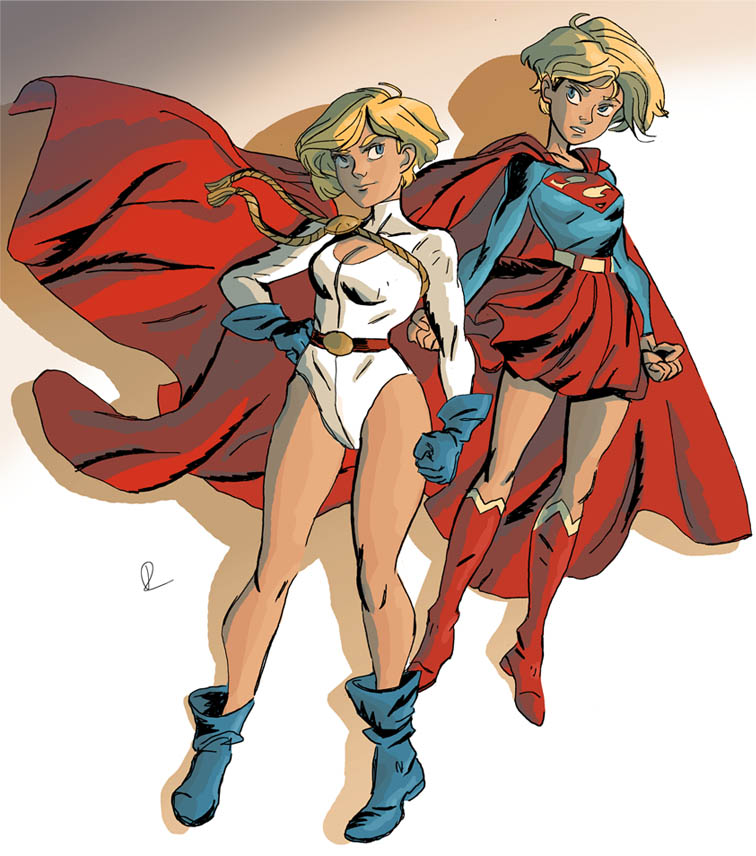 Supergirls by theintrovert
