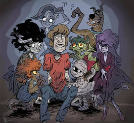 Shag and the Ghoul School by theintrovert